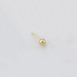 Ø4mm ball ear post to PP12 strass
