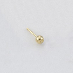 Ø5mm ball ear post to PP14 strass