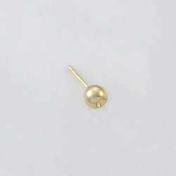 Ø6mm ball ear post to PP19 strass