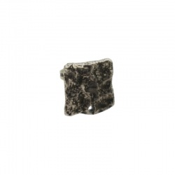 Square ear stud 12x12mm with one hole