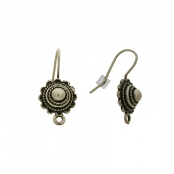 Earwire with motif Ø 11mm