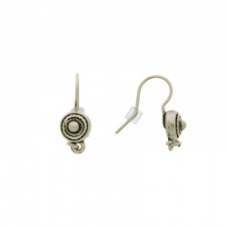 Earwire with motif Ø 7mm
