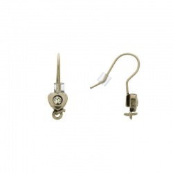 Earwire with motif Ø 6mm
