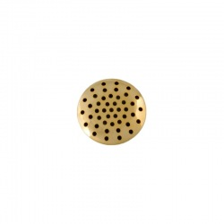 45 holes metal mesh Ø 25mm.