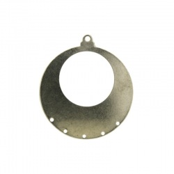 Round stamped piece 5 holes Ø 35mm.