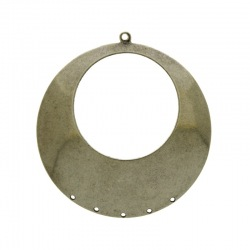 Round stamped piece 5 holes Ø 45mm.