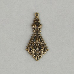 Filigree finding 41x20mm