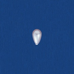 Tear pearl 9x6mm
