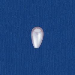 Tear pearl 13x7mm