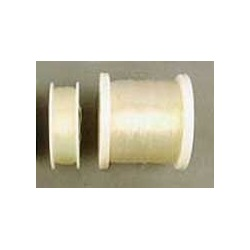 Transparent silicone beading cord Ø 0,6mm