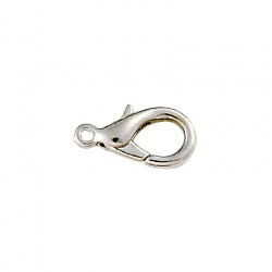 Zinc lobster clasp 18mm