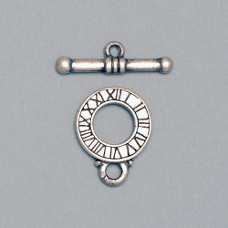 Toggle clasp Ø 18mm. Bar length 28mm