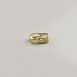 Heart flat end 10x6mm