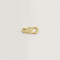 Plain end plate 3,5x8mm