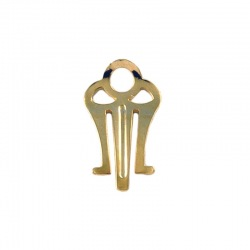 Earclip 16x10mm for box ref.63564