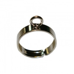 Adjustable ring base with 1 loop