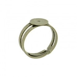 Adjustable ring with Ø 10mm flat base