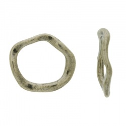 Zamak irregular ring 23x20mm