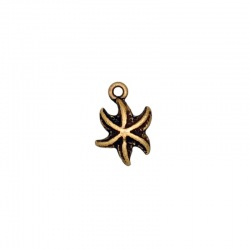 Star pendant 17x12mm