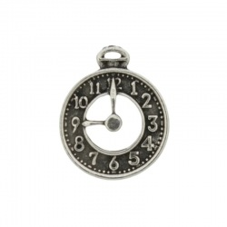 Clock pendant 25x20mm