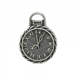 Clock pendant 26x19mm