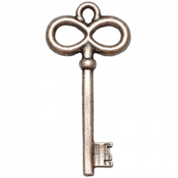 Key pendant 53x27mm