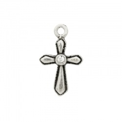 Cross pendant 24x12mm