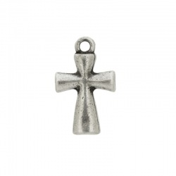 Cross pendant 25x12mm