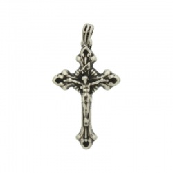 Cross pendant 36x20mm with bail