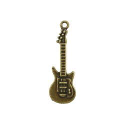 Guitar pendant 37x12mm