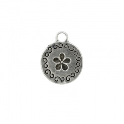 Flower pendant 19x15mm