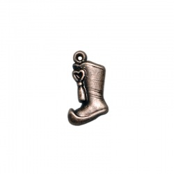 Boot pendant 19x10mm