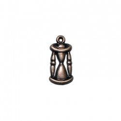 Hourglass pendant 18x8mm