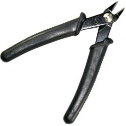Semi-professional diagonal-cutting pliers for wire. Length 120 mm.