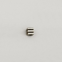 Metal bead 5,5x5,5mm. Hole Ø 2mm