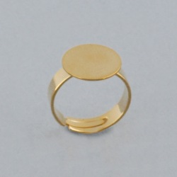 Adjustable ring with Ø 14mm flat base