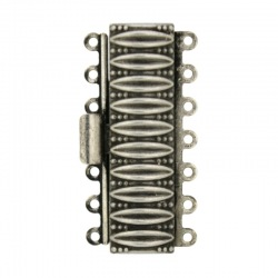 Necklace clasp 36,5x17mm 7 strands