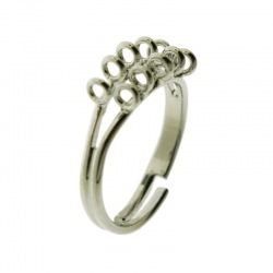 Adjustable ring base with 10 loop
