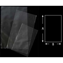 Plastic bag PE 180 x 125 x 0,04 mm