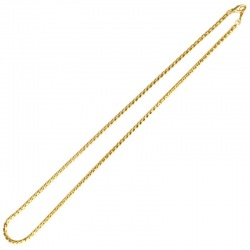 Brass choker necklace 45cms Ø 2,7mm