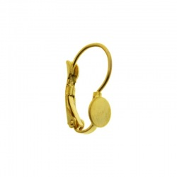Earclip 18x14mm with cup Ø4mm