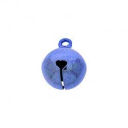 Jingle bell Ø 14mm blue colour nickel free