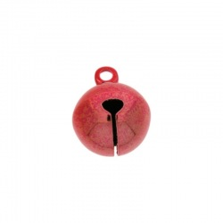 Jingle bell Ø 14mm red colour nickel free