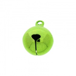 Jingle bell Ø 16mm green colour nickel free