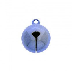 Jingle bell Ø 16mm blue colour nickel free