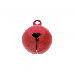 Jingle bell Ø 16mm red colour nickel free