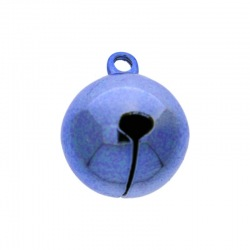 Jingle bell Ø 20mm blue colour nickel free