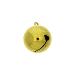 Brass jingle bell Ø 16mm