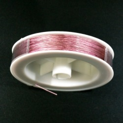 Stainless steel wire Ø 0,45mm pink