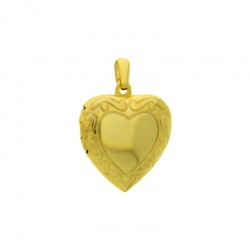 Heart box pendant 30x20mm
